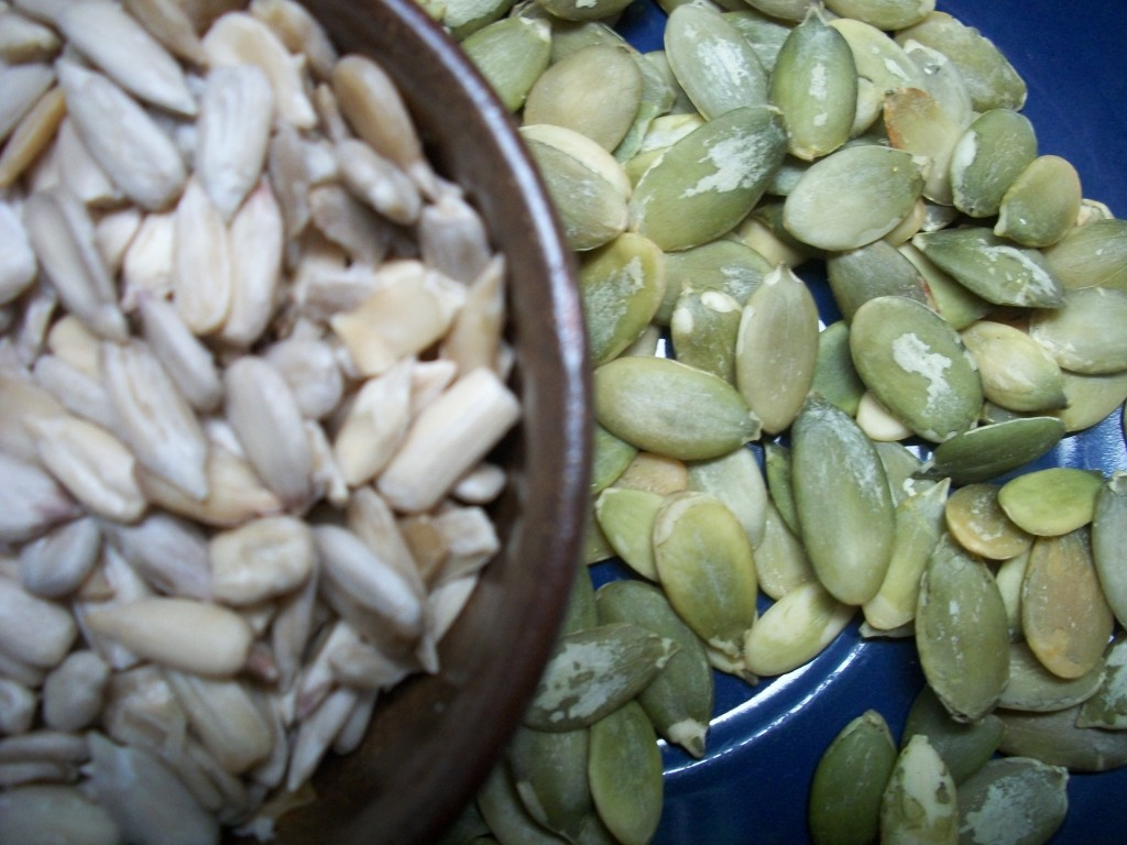 Eating for Better Immunity, Part 2_sunflower and pumpkin seeds