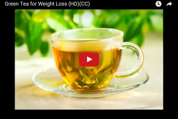 Green Tea for Weight Loss (video)