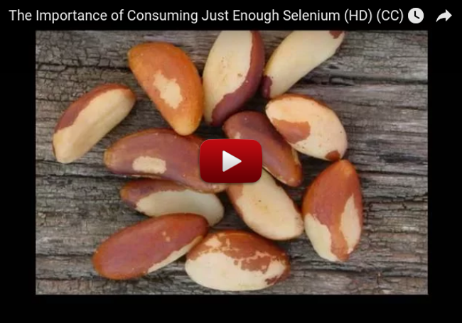 The Importance of Consuming Just Enough Selenium (HD) (CC)