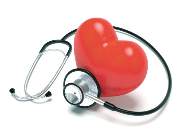 Blood Pressure Dangers – High and Low_heart and stethoscope