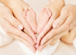 Newborn Baby Feet In Parents Hands_Zinc for Infertility
