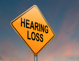 Iron Deficiency and Hearing Loss_hearing loss road sign