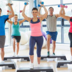 5 Natural Ways to Decrease Cortisol Levels_step aerobics class