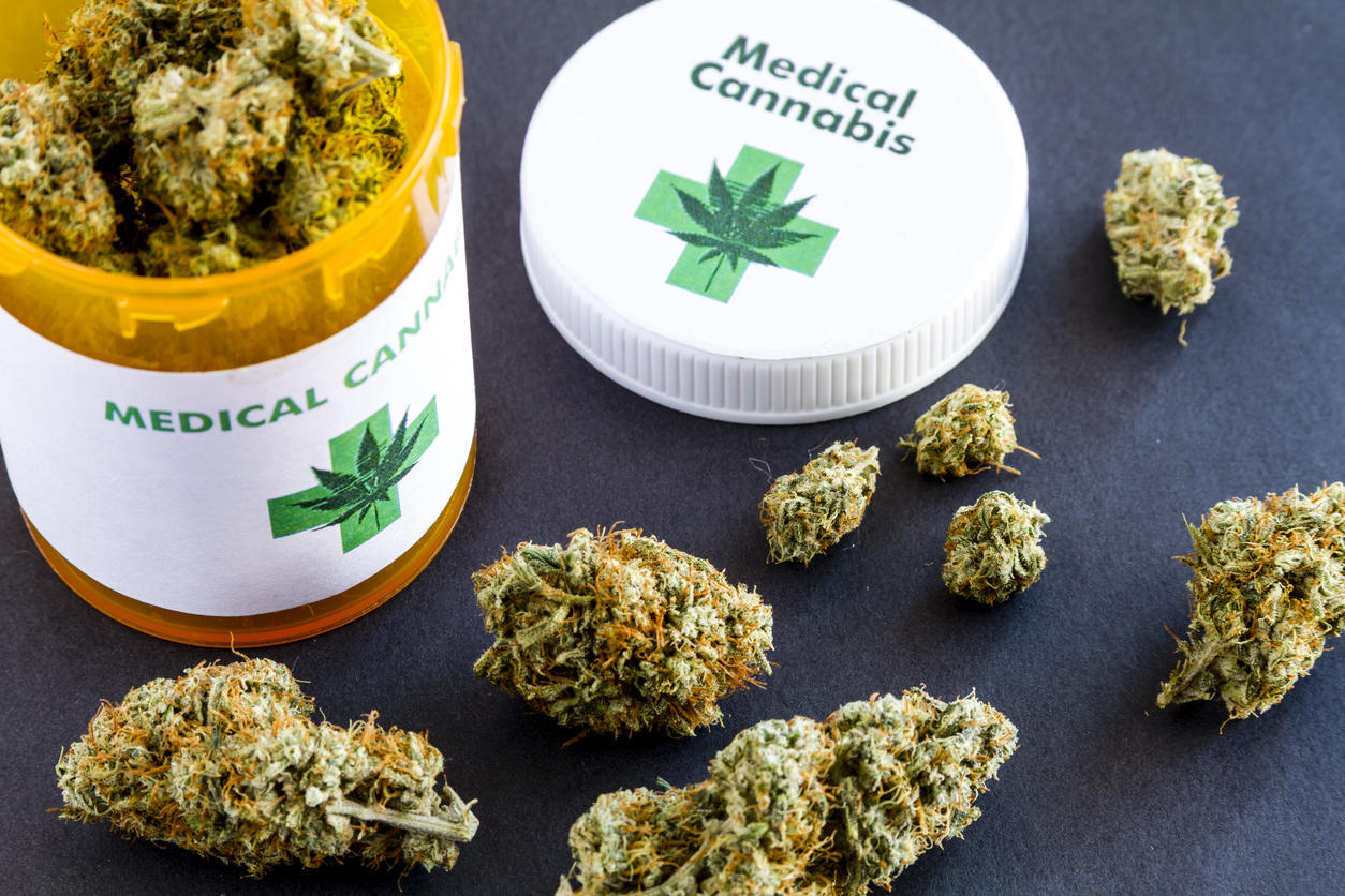 A Family's Journey with Medical Cannabis marijuana in a prescription bottle
