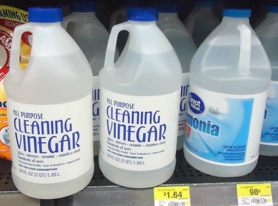Top 10 Cleaning Toxins And Natural Alternatives_cleaning vinegar