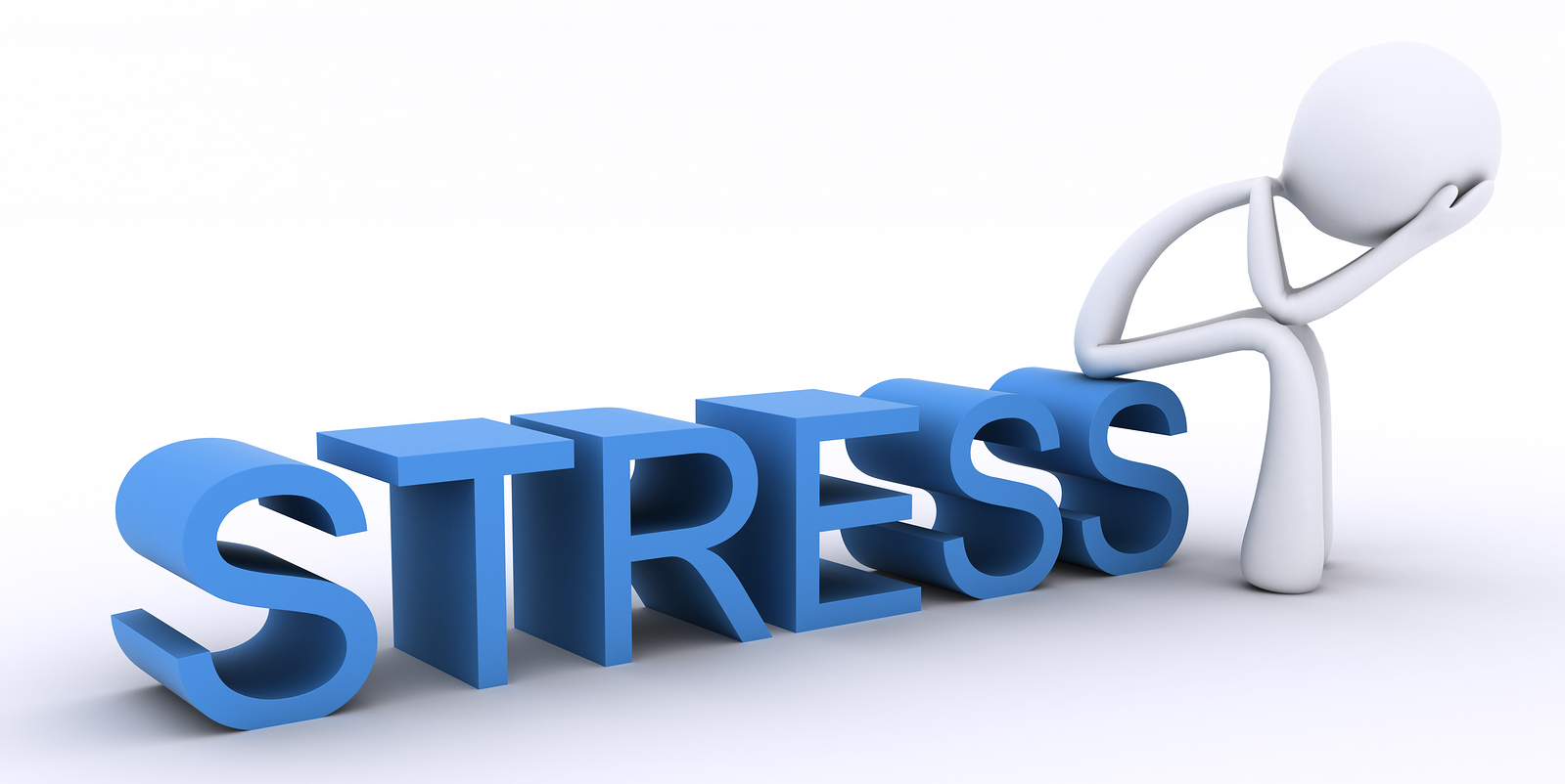 What is Acute Stress and How to deal with it?_stress stick figure